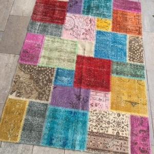 patchwork hali multicolor-a